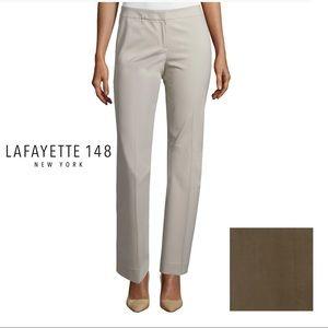 Lafayette 148 NY Womens Italian Stretch Wool Pants